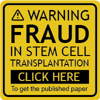 Published Paper - Fraud in stem cell transplantation