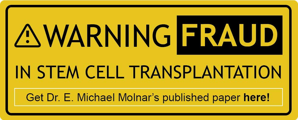 Download Warning fraud in stem cell transplantation